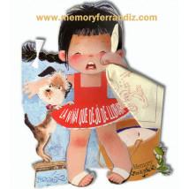 Cuento LA NIÑA QUE DEJÓ DE LLORAR  Ferrándiz troquelado por Memory Ferrándiz Mejores cuentos infantiles