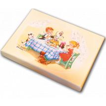 "Caja Bombones o multiusos ""Mona de Pascua"" (17x12x3cm)"