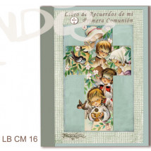 Libro de Recuerdos de mi Primera Comunión Memory Ferrándiz -CRUZ NIÑOS-22,5x30 cm