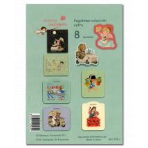 pegatinas Ferrándiz Colección retro 1 Imágenes personajes cuentos Memory Ferrándiz