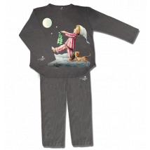 "Pijama ""Sonámbulo"".  Color Grafit. UNISEX."