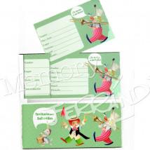 Talonario Invitación Infantil - Niño (15 invitaciones)