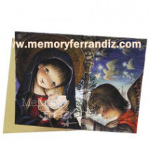 Tarjeta Christmas  EN EL PÓRTICO (L) 15 X 19 cm