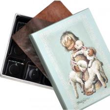 "Caja Bombones o multiusos ""Angelito Pastor"" (17x12x3cm)"