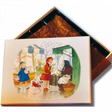 "Caja Bombones o multiusos ""Castañas"" (17x12x3cm)"