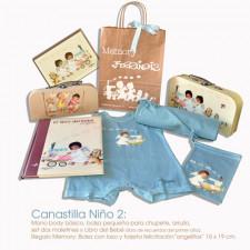 Canastilla Niño 2: Ropa y accesorios para el bebé. PRECIO ESPECIAL REDUCIDO. Dto. +-25 %