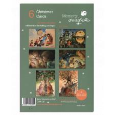 Christmas Ferrándiz, ADORACIÓN AL NIÑO, Pack 6 tarjetas variadas, CHPK 26.
