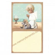 Estampas recordatorios Comunión Ferrándiz -NIÑO TOPOS- Memory Ferrándiz- NUEVA