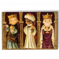 Imán Reyes dorados Ferrándiz