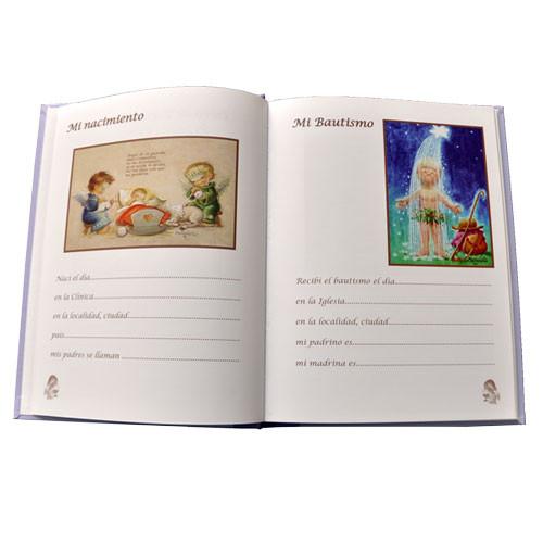aafaac6e5f4 Estampas interior páginas libro comunión Ferrándiz · Bautizo Ferrándiz ...