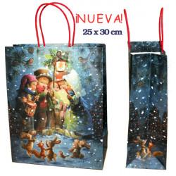 Bolsa Navidad regalo Villancicos, bolsas Ferrándiz