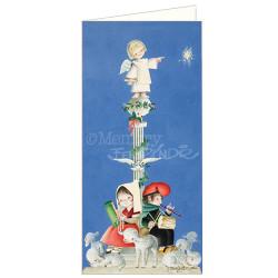 Tarjeta Christmas Ferrándiz -COLÓN-10 x 21 cm. Memory Ferrándiz