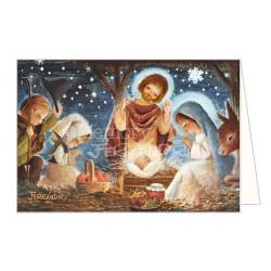 Tarjeta Christmas Ferrándiz EL MISTERIO, NUEVA