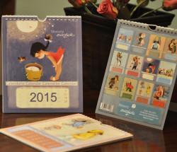 Calendario sobremesa 2015