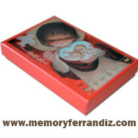 Ferrándiz Communion Box Cards RED SERIES BOY, 50 units