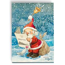 Imán  Papá Noel diario  Ferrándiz