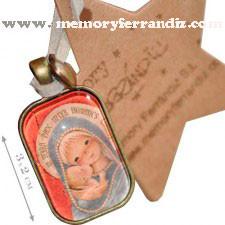 Medalla Ferrándiz bronce -Virgen gótica-