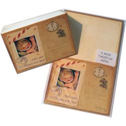 Tarjetitas mesa -FIN DE AÑO- Memory Ferrándiz- New Year's eve-Pack 6 uds.