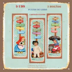 Puntos de libro Carteles cuentos Ferrándiz