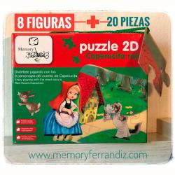 Puzzle CAPERUCITA ROJA