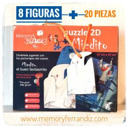 Puzzle MIEDITO EL BUEN FANTASMITO