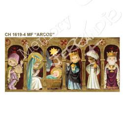 Christmas Tarjeta Ferrándiz ARCOS, 10x21 cm