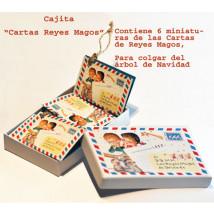"Miniaturas ""Cartas Reyes"" Ferrándiz para árbol de navidad"