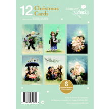 "Pack 12 Christmas+ sobres  (12 x 17 cm). Serie ""Pastores"". CHPK 8."