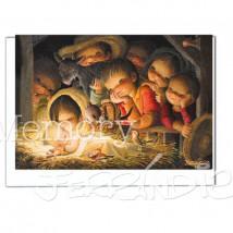 Tarjeta Christmas Memory Ferrándiz PESEBRE.  12 X 17 cm
