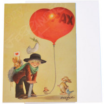 Christmas Card Ferrándiz, GLOBE PAX, 12x17 cm