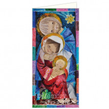 Christmas Card MOSAICO Memory Ferrándiz, 10 x 21 cm