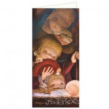 Tarjeta Christmas Ferrádniz -ANTE LA CUNA-