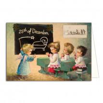 Tarjeta Christmas 25 DE DICIEMBRE
