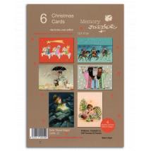Christmas Ferrándiz, serie REYES MAGOS, Pack 6 tarjetas. CHPK 21