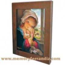 Cuadro en lienzo digital Ferrándiz -Virgen Ventana- © Memory Ferrándiz
