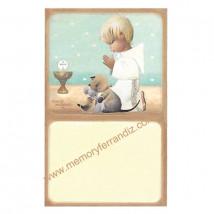 Estampas recordatorios Comunión Ferrándiz -NIÑO TOPOS- Memory Ferrándiz