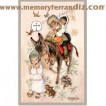 Estampas Comunión Ferrándiz -ROMERIA COMUNIÓN- Memory Ferrándiz