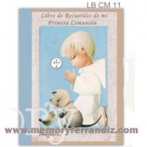 Libro Álbum de Recuerdos de mi Primera Comunión -NIÑO AZUL- Ferrándiz