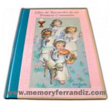Libro de Recuerdos de mi Primera Comunión -Angelitos cantando- Memory Ferrándiz