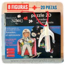 Puzzle AMADEO EL ASTRONAUTA
