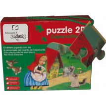 Puzzle gigante -Caperucita Roja- Memory Ferrándiz.