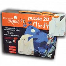 Puzzle infantil gigante Memory Ferrándiz- Miedito, el buen fantasmita-