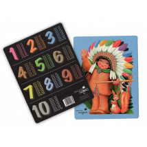 Tabla de multiplicar Ferrándiz -Indio- © Memory Ferrándiz