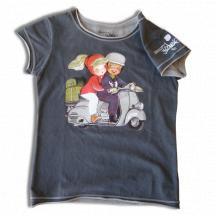Camiseta Infantil- VESPA- Memory Ferrándiz.