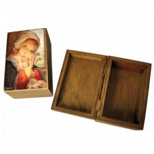 "Caja de madera ""Virgen ventana"""