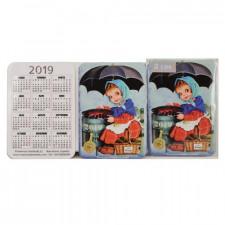Calendarios bolsillo CASTAÑERA 2019.  7x 9,5 cm, Memory Ferrándiz