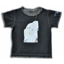 """Camiseta """"Fantasma"""" unisex. Dibujos frontal y dorsal. Algodón 2 colores. Tallas: INFANTIL"""