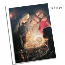 Tarjeta ADORACIÓN + sobre: 12 x 17 cm. Ferrándiz