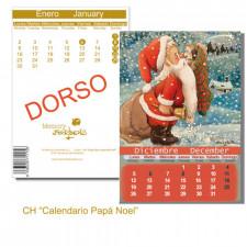 Tarjeta Christmas PAPÁ NOEL CALENDARIO Memory Ferrándiz, NUEVA