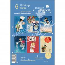 Christmas Ferrándiz, serie PAZ. Pack 6 uds. CHPK 30